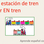 Vocabulario en la estación de tren