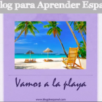 vocabulario la playa