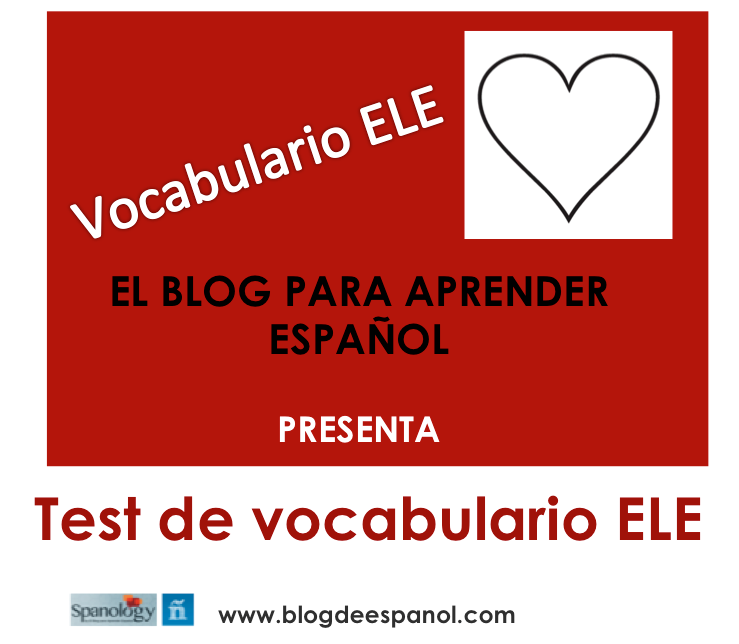 Test vocabulario ELE