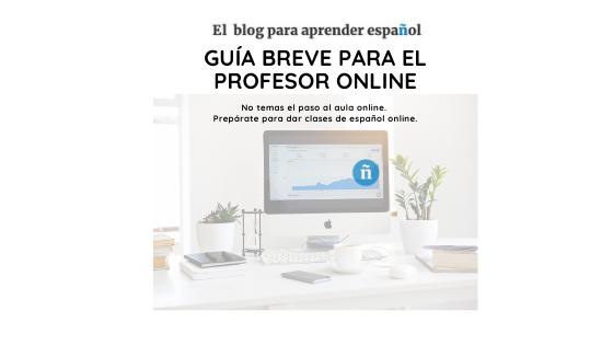 Guía breve para enseñar español por Skype.