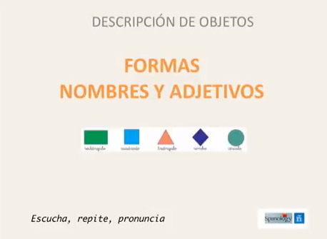 Formas en español